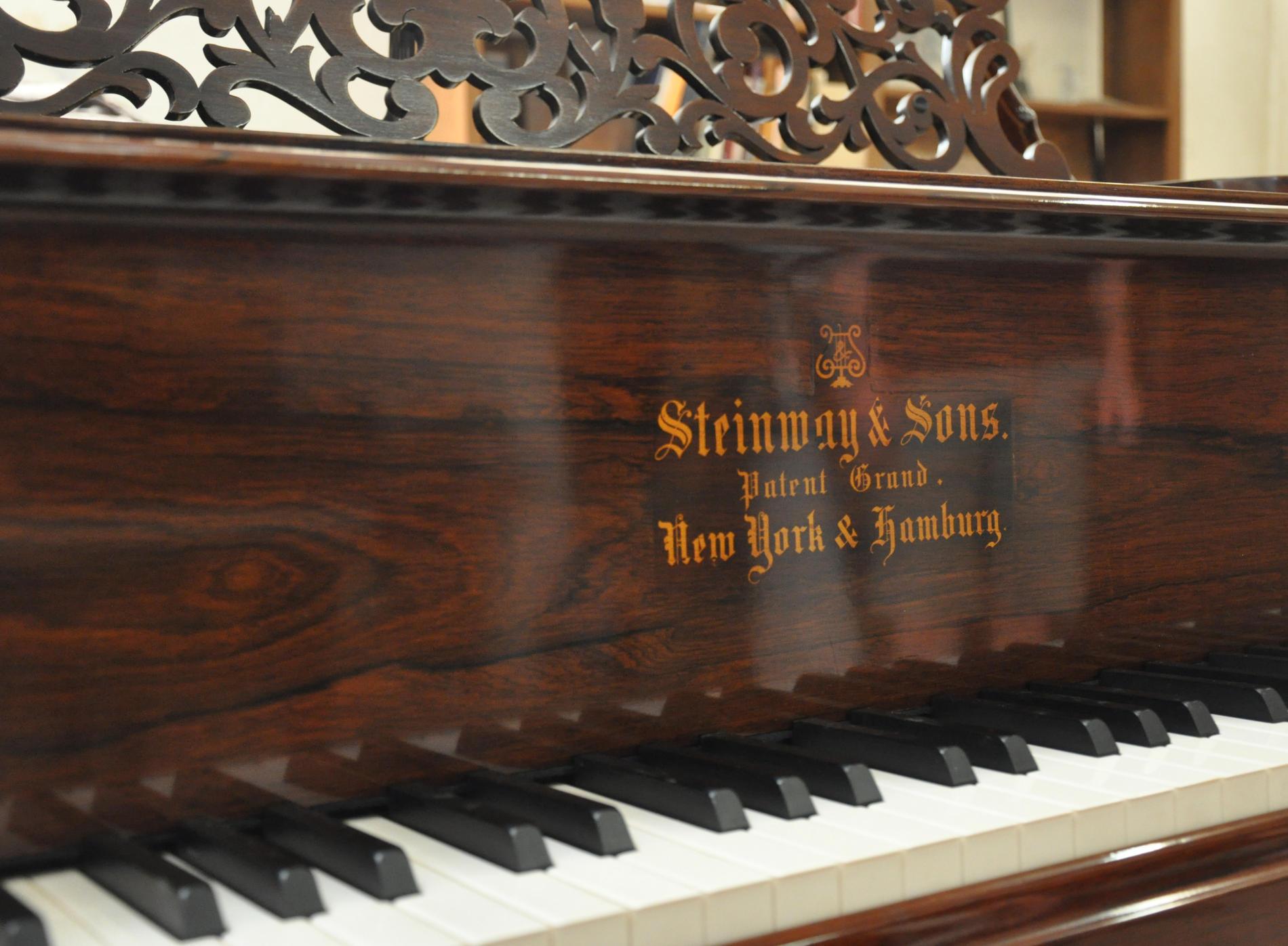 Steinway & Sons / Modèle 1876